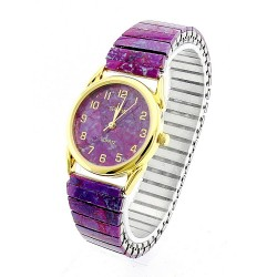 Gemtime Purple Turquoise Ladies watch