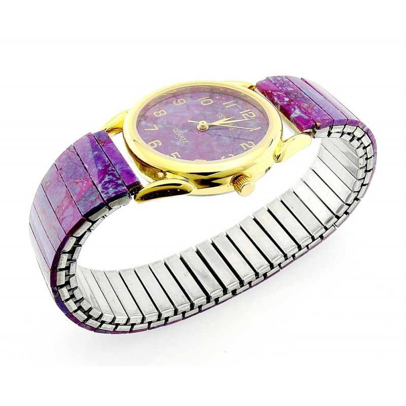Gemtime Purple Turquoise Ladies Watch Jewelry Farm