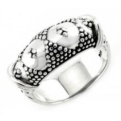 Bali Sterling Silver Ring Unique Design