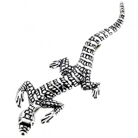 Sterling Silver Lizard Pin