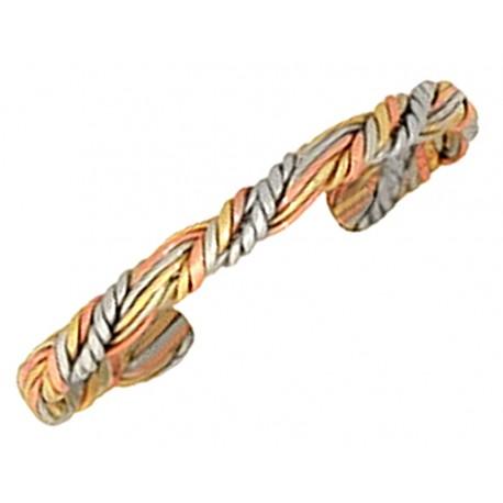 Sergio Lub Copper Cuff Bracelet - Sumerian Queen