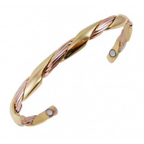Sergio Lub Magnetic Cuff Bracelet - Magnetic Grapevine