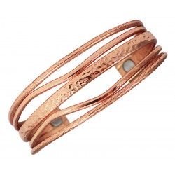 Sergio Lub Magnetic Bracelet – Copper Flow