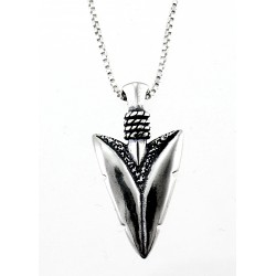 Sterling Silver Arrowhead Pendant with Chain