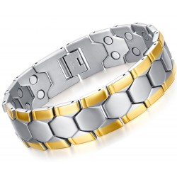 Stainless Steel Men's Magnetic Bracelet