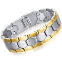 Stainless Steel Men's Magnetic Bracelet