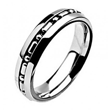 Stainless Steel Ring Size 5