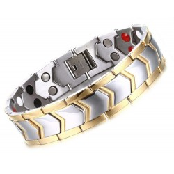 Magnetic Stainless Steel Bracelet - Arrow
