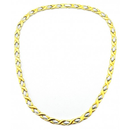 Magnetic XOXO Stainless Steel Necklace