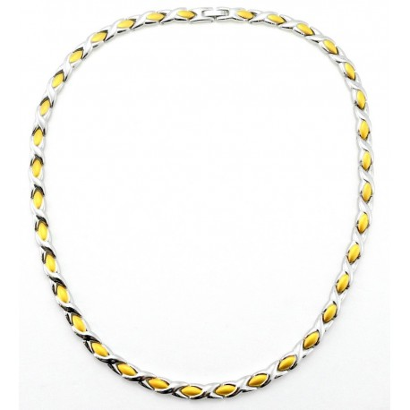 XOXO Magnetic Stainless Steel Necklace