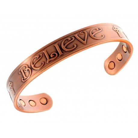 Magnetic Copper Believe Bracelet