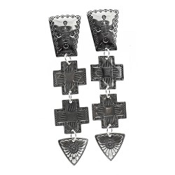 Relios / Carolyn Pollack Southwestern Sterling Silver Earrings