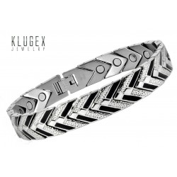 Extra Strength Stainless Steel Magnetic Bracelet Arrow