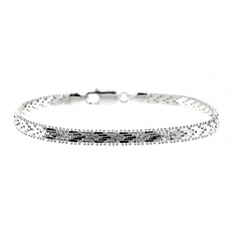 Sterling Silver Bracelet 7 Inch