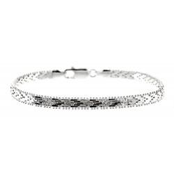 Sterling Silver Bracelet 8 Inch Long