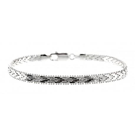 Sterling Silver Bracelet 8 Inch