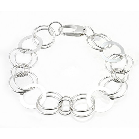 Sterling Silver Harmony Links Bracelet