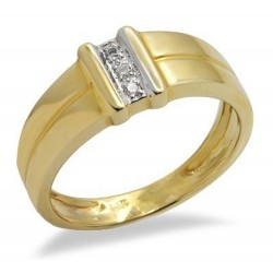 14K Gold Ring with Diamond